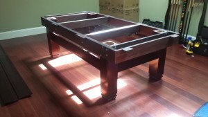 Pool and billiard table set ups and installations in Corry Pennsylvania