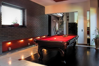 Corry pool table room size image 1